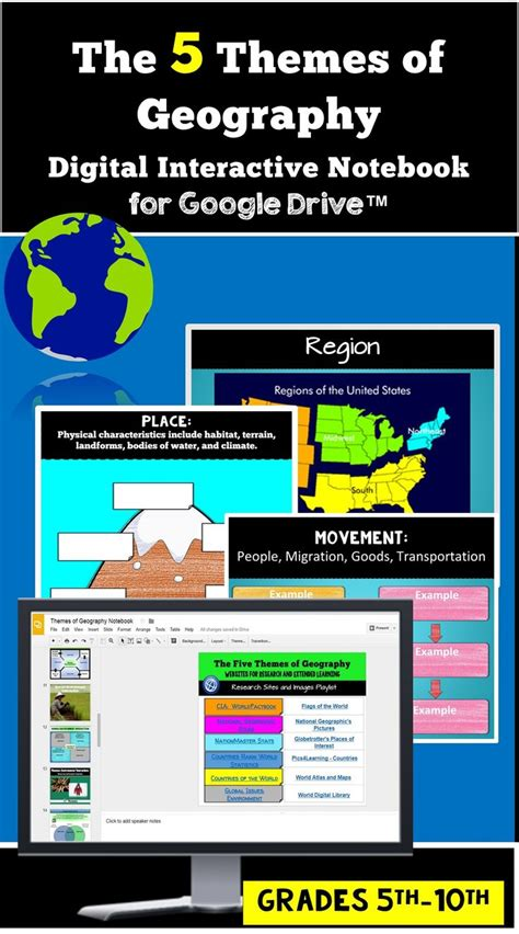 5 themes of geography games 20674 best images about creative literacy resources on