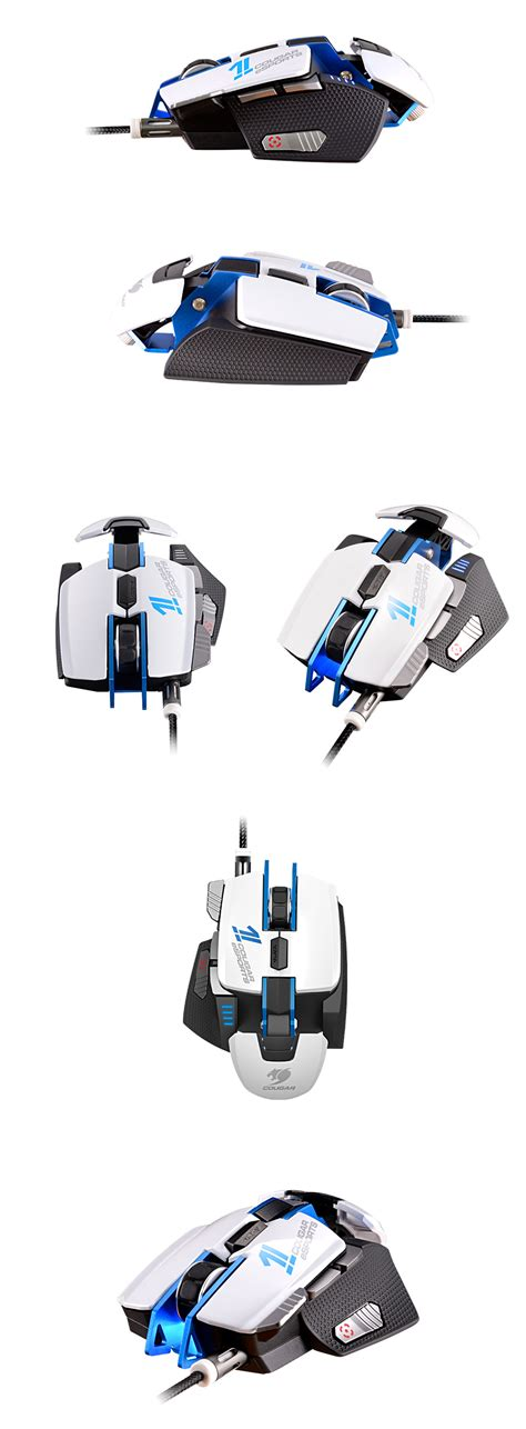 700m Esports Edition Aluminum Laser Gaming Mouse White 700m esports edition laser gaming mouse white cgr