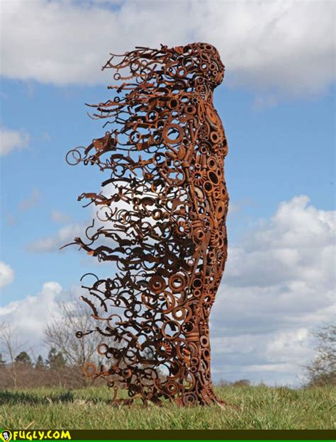 wind art cool sculpture wind and metal pennyhardysculpture dot com