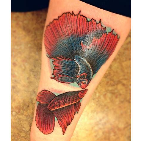 betta fish tattoo betta fish by carn1fex on deviantart