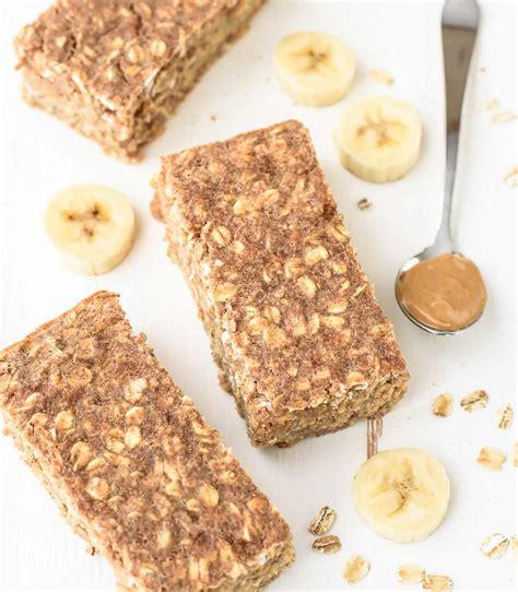 9 Ways To Make Oatmeal Interesting by Peanut Butter Banana Honey Oatmeal Breakfast Bars Well