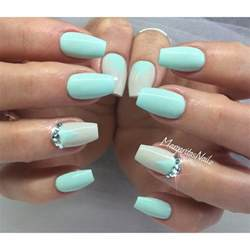 mint color nails 25 best ideas about mint green nails on mint