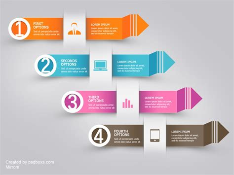 design free download psd free psd infographic modern arrow by muhiza on deviantart