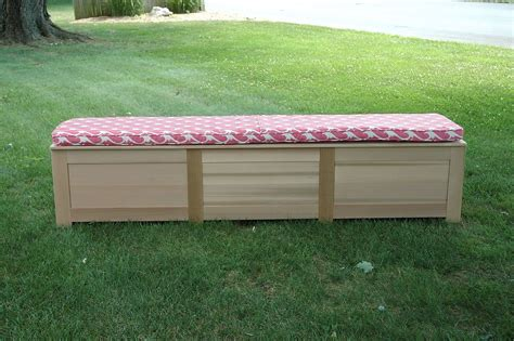 custom benches with storage handmade cedar storage bench by wooden it be nice