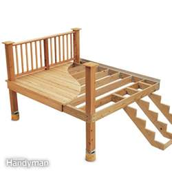 deck building 7 deck building tips the family handyman