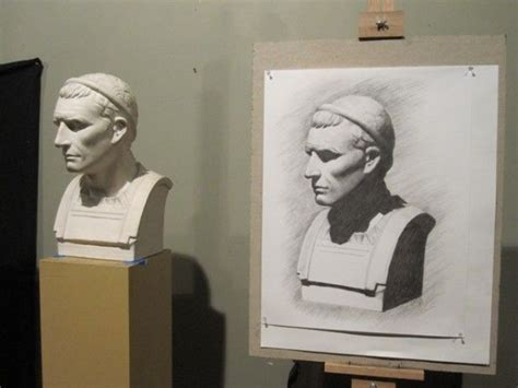 Plaster Cast Drawing