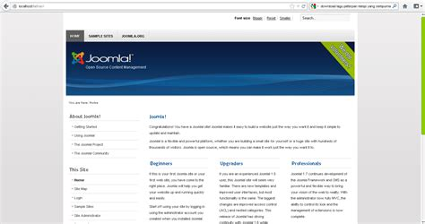 membuat website forum dengan joomla membuat website cms dengan joomla info knowledge