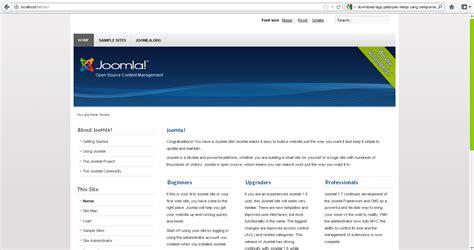 membuat web joomla membuat website cms dengan joomla info knowledge