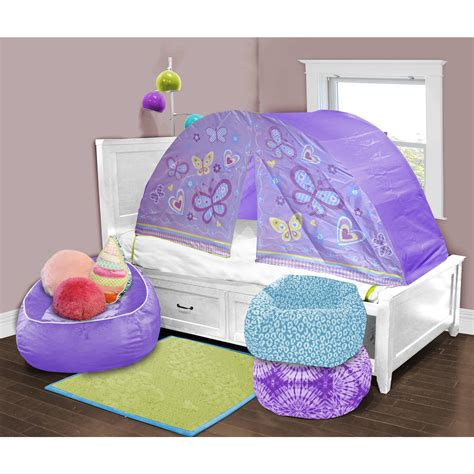 bedroom unique twin bed tent topper  kids bedroom