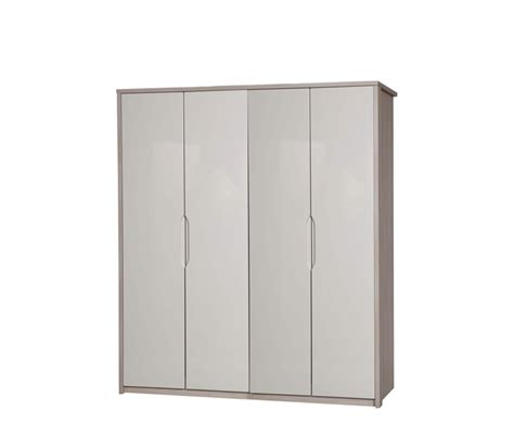 affinity 4 door high gloss wardrobe uk delivery