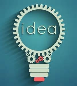 free gear idea bulb vector titanui