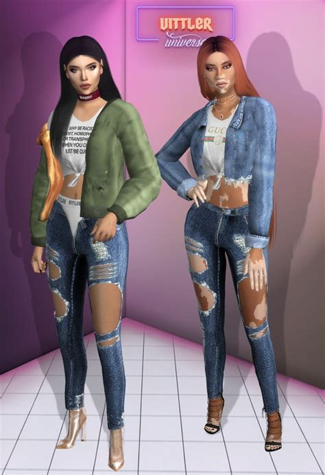 denim everthing collection  vittler universe sims