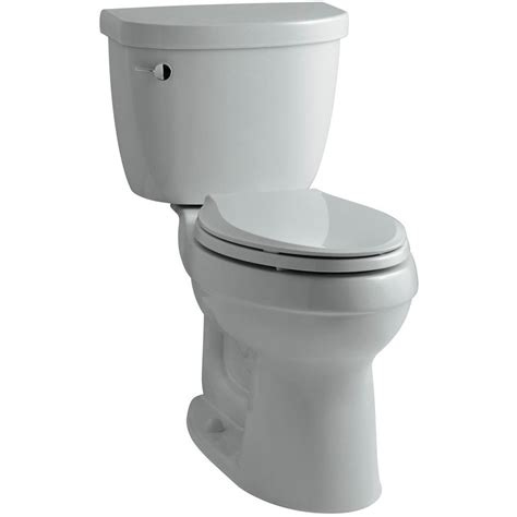 kohler cimarron elongated comfort height toilet kohler cimarron comfort height 2 piece 1 6 gpf elongated