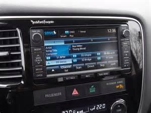 Mitsubishi Rockford Fosgate Review 2015 Mitsubishi Outlander Gt S Awc Canadian Auto