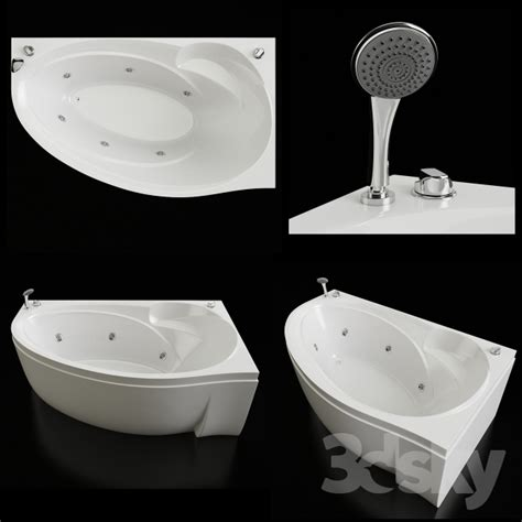 bathtub doctor 3d models bathtub shower cubicle bath doctor jet vis