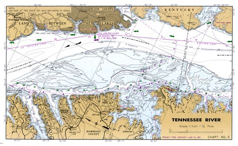 kentucky map with rivers and lakes tennessee river navigation charts of kentucky lake lake
