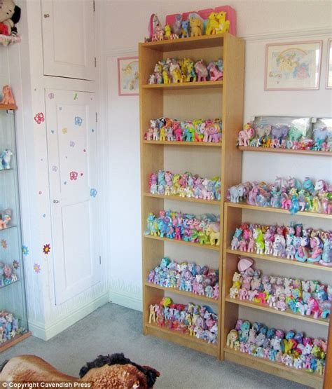 my pony room my pony s fan has dedicated pony room for 1 000 strong collection worth 163 20 000