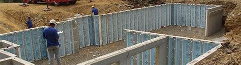 precast concrete basement walls comparing concrete block to precast concrete like superior