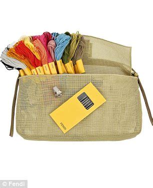 Design Your Own Fendi Bag The Fendi Artist Baguette by Design Your Own It Bag How High End Labels Are Now Giving