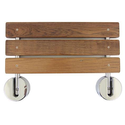 teak shower bench seat clevr 20 quot teak modern folding shower seat bench dark wood