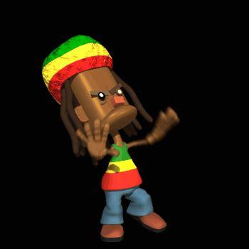 imagenes animadas rastas rastafaris