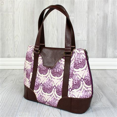 tote bag backpack pattern harriet expandable tote swoon sewing patterns