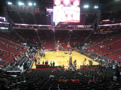 section 114 toyota center toyota center section 114 houston rockets