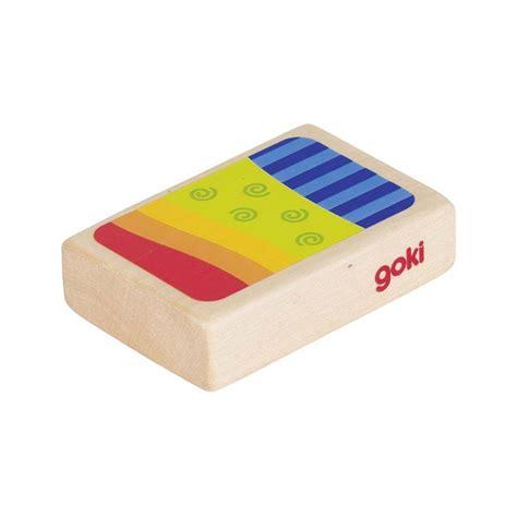 rangement jouet enfant 3611 goki shaker box bois color 233 percussion enfant