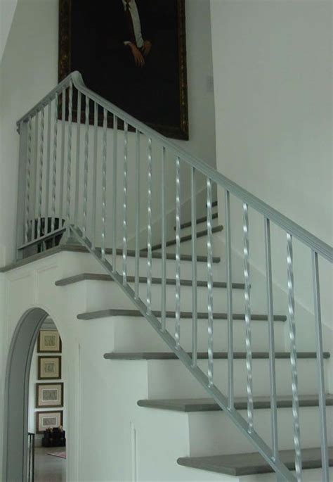 Silver Handrails For Stairs Silver Metal Railings Search 78th Circle