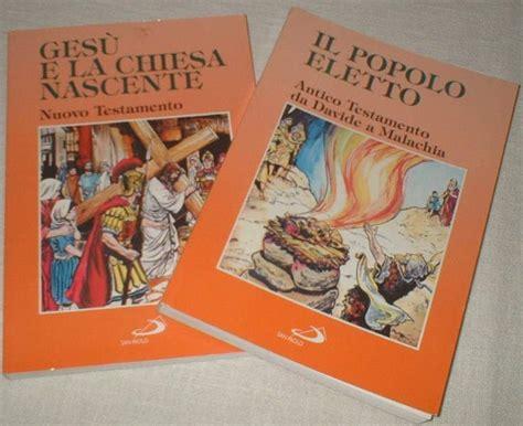 bibbia nuovo testamento bibbia storia sacra a fumetti antico e nuovo a flaminio