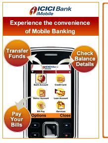 mobile icici bank how to activate mobile banking in icici bank