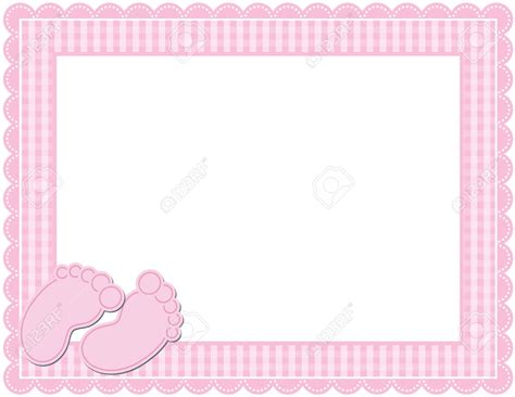 baby shower page borders baby shower clipart border clipartsgram
