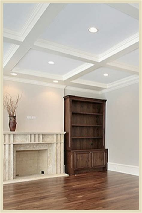 Waffle Ceiling Vs Coffered Ceiling Toronto Deluxe Ceilings