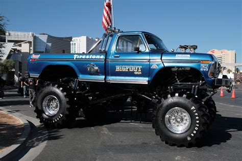 monster trucks bigfoot three decades of monster trucks gargling gas