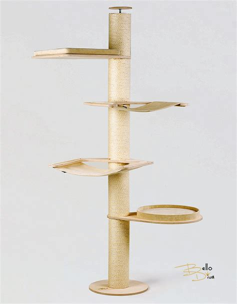 Kratzbaum Deckenspanner 1332 by Kratzbaum Deckenspanner Kratzbaum Deckenspanner Carlos