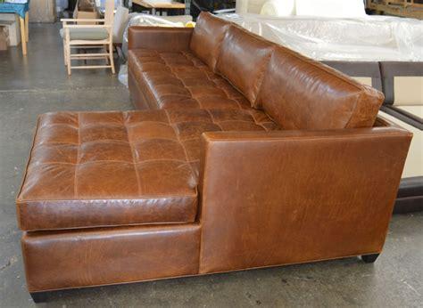arizona leather sectional arizona leather sofa chaise sectional in italian brompton