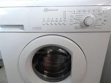 waschmaschine bauknecht bauknecht waschmaschine wa care 644 sd in wuppertal