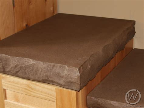 Rustic Wood Countertops For Kitchens - chiseled edge countertops customcretewerks inc