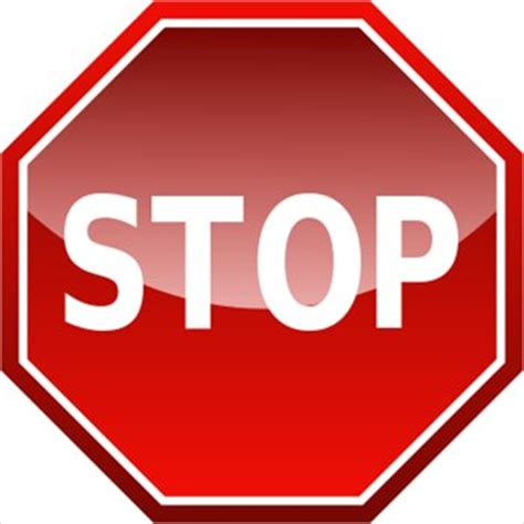 can a teacher stop you from using the bathroom picture of a stop sign clipart best