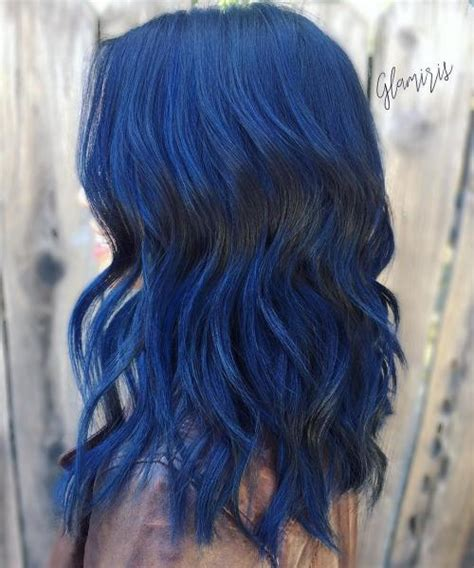 And Blue Hairstyles by 20 Blue Hairstyles That Will Brighten Up Your Look