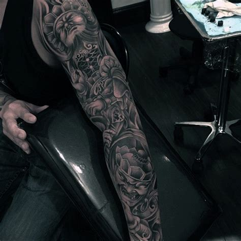 shaded tattoo sleeve designs 70 unique sleeve tattoos for aesthetic ink design ideas