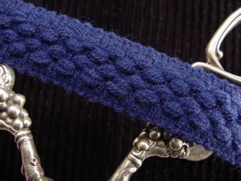 Upholstery Braid And Trimmings by Decorative Blue Braid Trim Made In Italy Vintage Braided