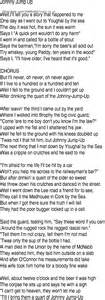 Jumping Up To The Ceiling Lyrics by Song And Ballad Lyrics For Johnny Jump Up