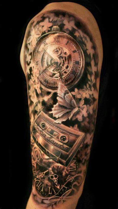 clock face tattoos designs clock ideas inked clock faces