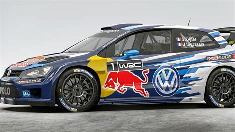 car rally the new vw polo rally car is hnnng