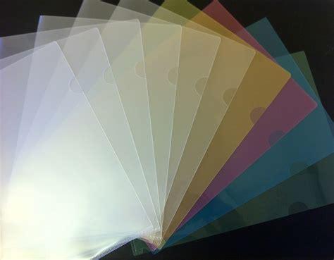Paper Holders 110 colour a4 plastic document holders folders