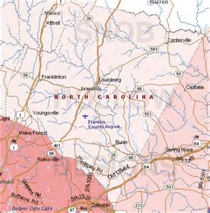 franklin carolina map franklin county carolina color map