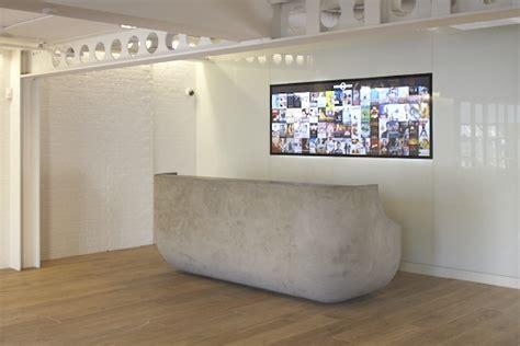 Concrete Reception Desk Concrete Reception Desk For Suzy Hoodless By Rousseau Design Rousseau Design