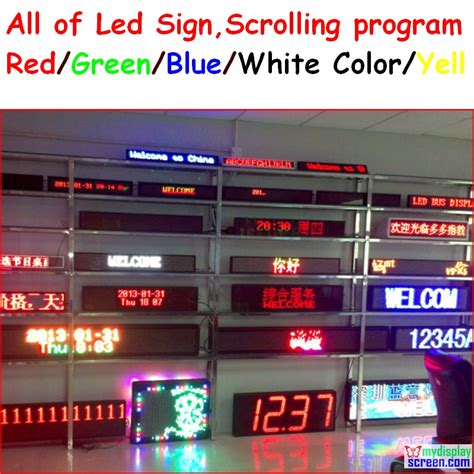 led signs buy wholesale programmable led display from china