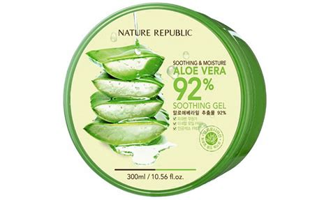 Original Trusted Nature Republic Aloe Vera 92 Shooting Gel Korea customers the 20 best reviewed moisturizers of 2017